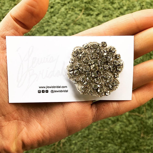 Round Hair Clip for Bridesmaids or Every Day Look