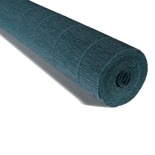 Crepe Paper Roll #560, Italian 180g Petrol Blue
