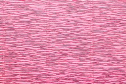 Crepe Paper Roll, Italian 180g Hydrangea Pink