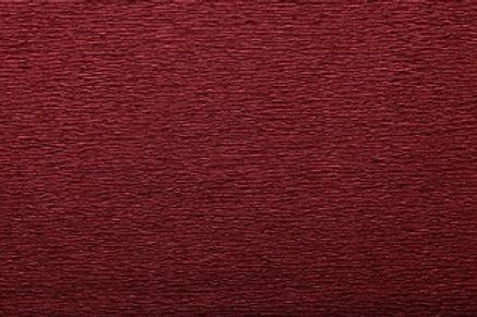 Crepe Paper Roll, Italian 60g, Burgundy Red