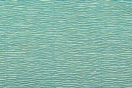 Crepe Paper Roll #17E3, Italian 180g Tiffany Azure