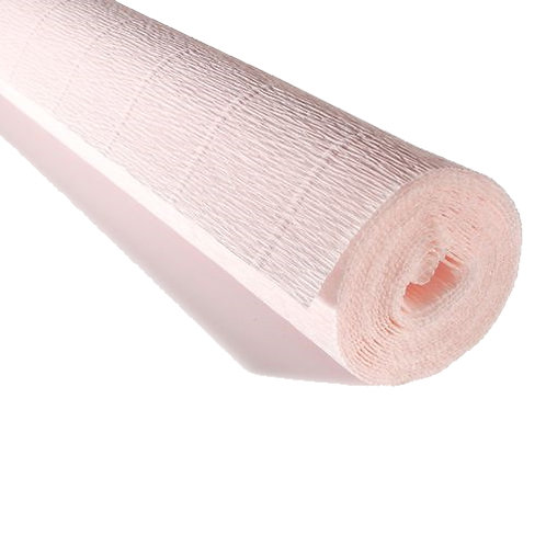 Crepe Paper Roll #616, Italian 180g Very Light Dusty Pink by Tiffanie Turner