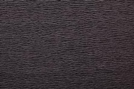 Crepe Paper Roll #0340, Italian 40g Black