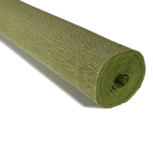 Crepe Paper Roll #962, Italian 140g, Sage Green