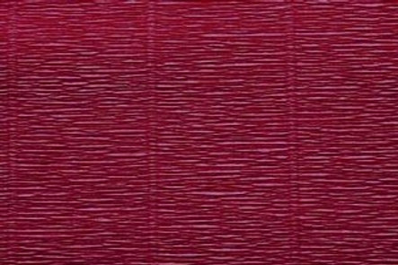Crepe Paper Roll, Italian 180g Bordeaux Red
