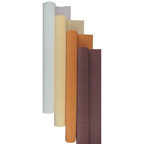 Premium Set - 4 pcs of Italian Crepe Paper Rolls, 180 g, Autumn