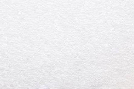 Crepe Paper Roll #0330, Italian 40g White