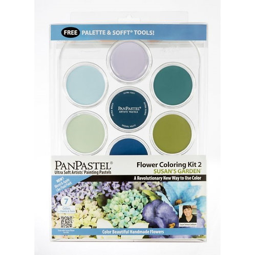 PanPastel 7 Colour Flower Coloring Kit - Susan's Garden #2