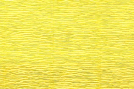 Crepe Paper Roll, Italian 180g Lemon Yellow