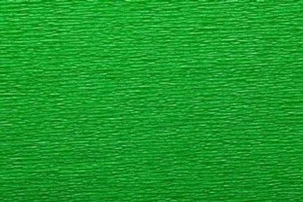 Crepe Paper Roll, Italian 60g, Green Flag