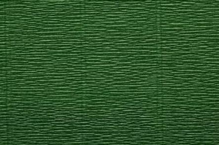 Crepe Paper Roll, Italian 180g Leaf Green