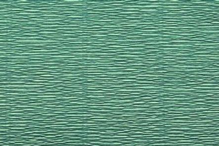 Crepe Paper Roll #17E4, Italian 180g Tiffany Green