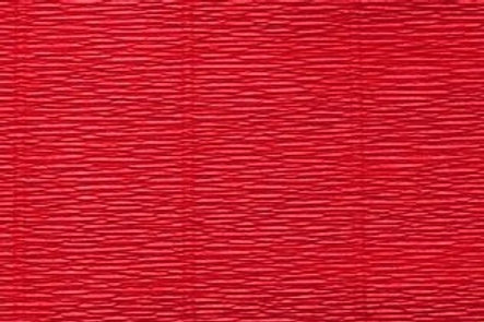 Crepe Paper Roll, Italian 180g Scarlet Red