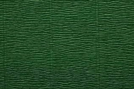 Crepe Paper Roll, Italian 140g Forest Green