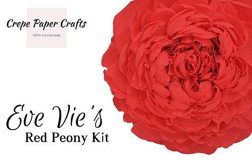 Eve's Peony Kit - Red