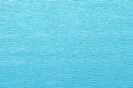 Crepe Paper Roll, Italian 60g, Marine Azure