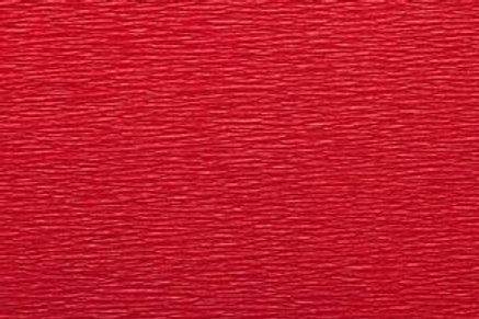 Crepe Paper Roll, Italian 60g, Red