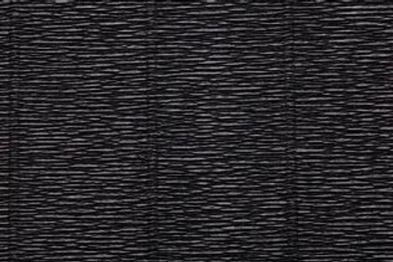 Crepe Paper Roll, Italian 180g Black
