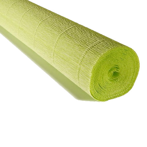 Crepe Paper Roll #558, Italian 180g Acid Green
