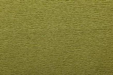 Crepe Paper Roll, Italian 60g, Musk Green