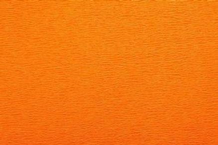 Crepe Paper Roll, Italian 60g, Dark Orange