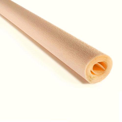 Crepe Paper Roll #386, Italian 90 gram Cream
