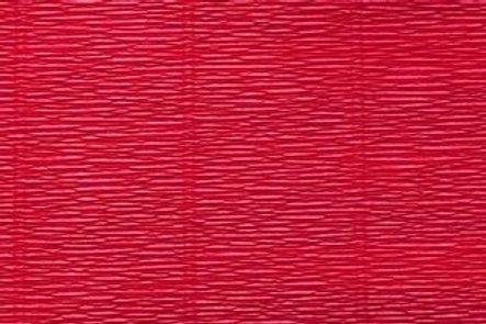 Crepe Paper Roll, Italian 180g Carmino Red