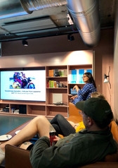 Presenting a talk on creative and grassroots hacking in India (2019)