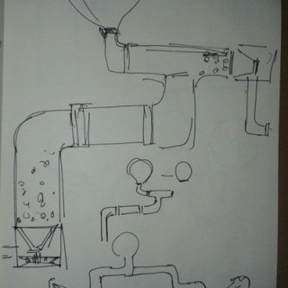 Initial sketches/ doodles - 3