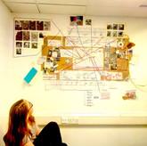 Conspiracy walls: Mapping design data -4