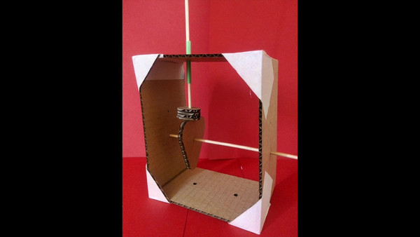 Testing movements of a triangular cam