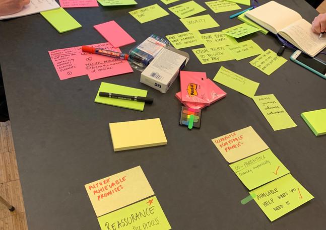 Service design workshop (2019)