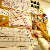 Conspiracy walls: Mapping design data -3