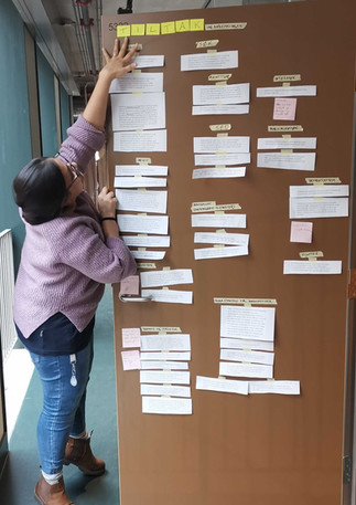 UX-research during a project (2020)