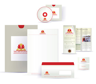 Brand collaterals_ The Art of living Foundation_2012