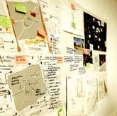 Conspiracy walls: Mapping design data -5
