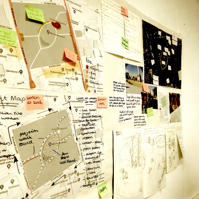 Conspiracy walls: Mapping design data -5