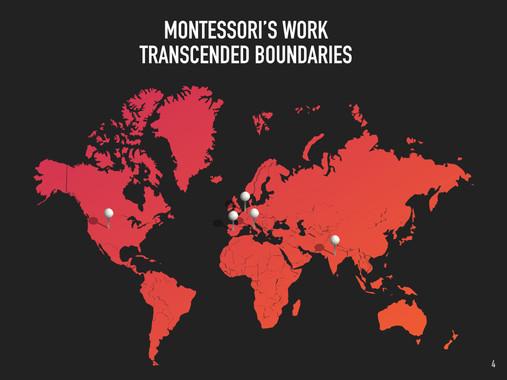 Montessori's global legacies