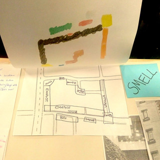 Sensory maps of Edinburgh - 2