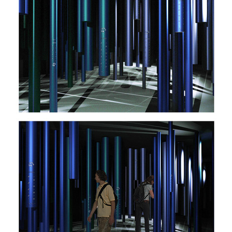 Light and Shadow Play - Internal Exhibit