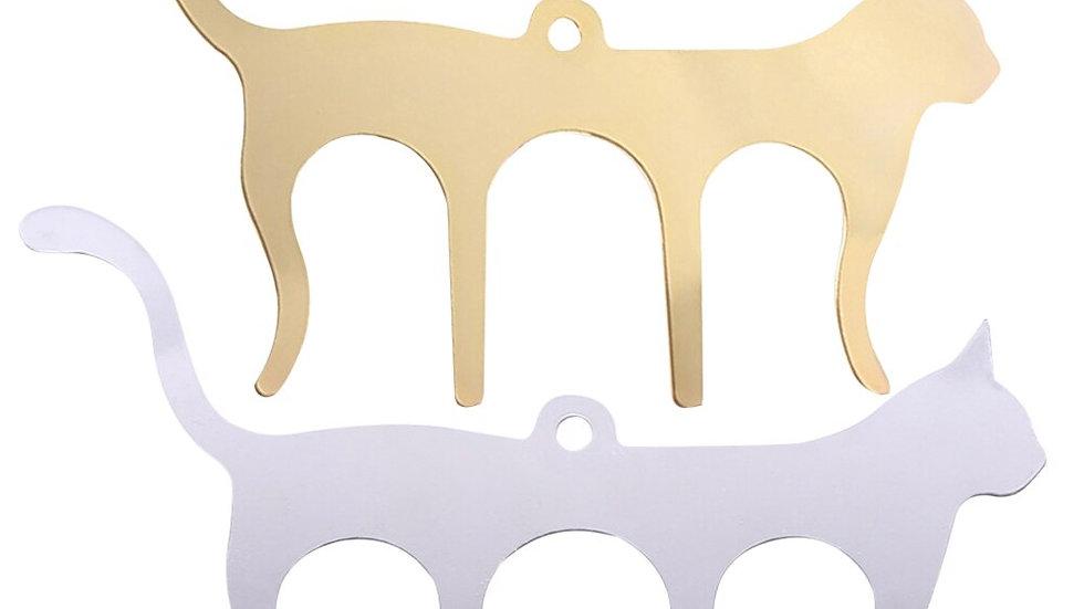 Cat Shaped Metal Music Clips