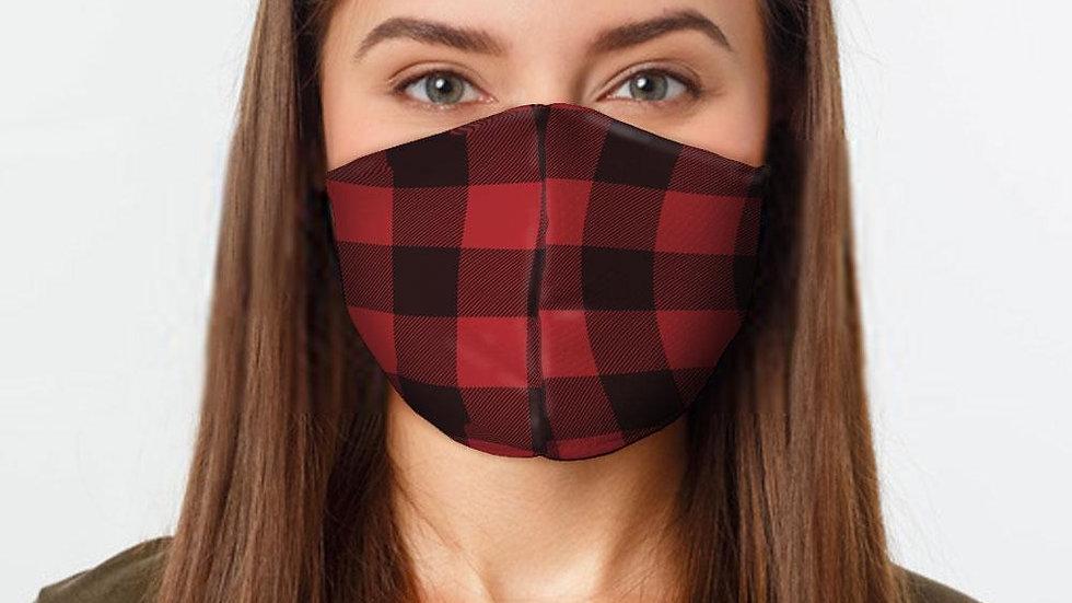 Red Flannel Preventative Face Mask