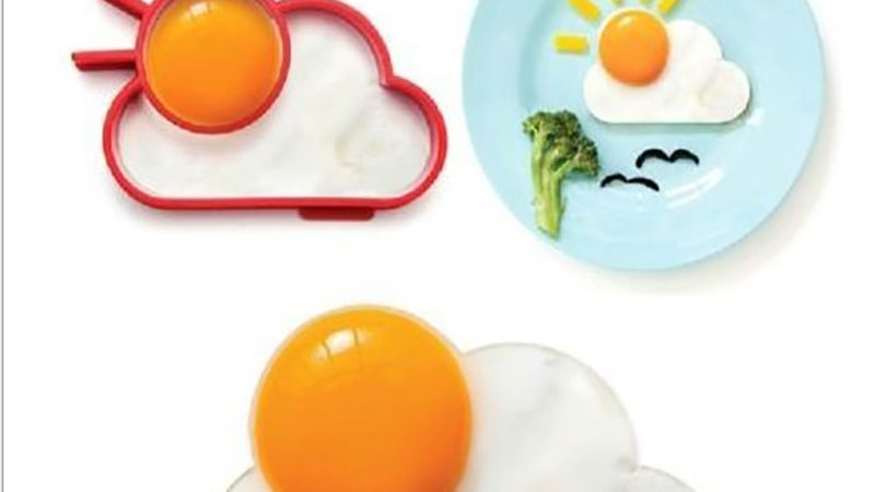Silicone Fried Egg Moulds