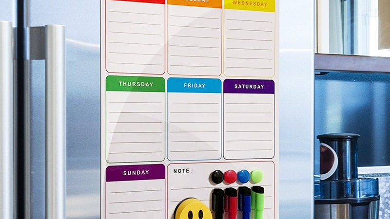A3  Magnetic Whiteboard Planner