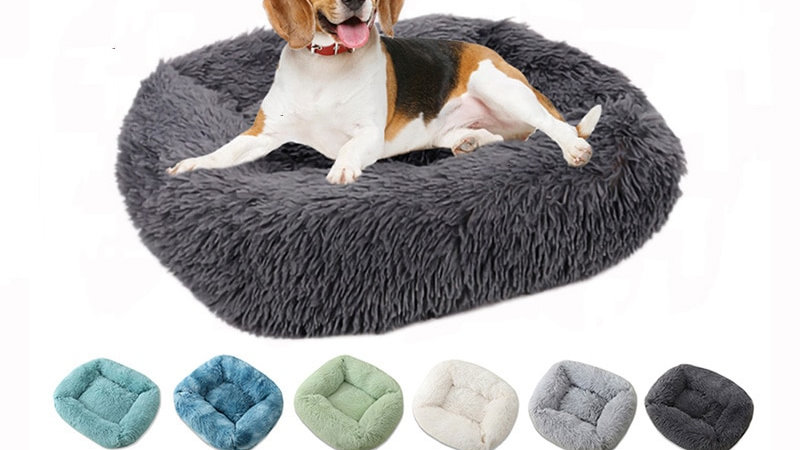 Square Super Soft Cat Bed