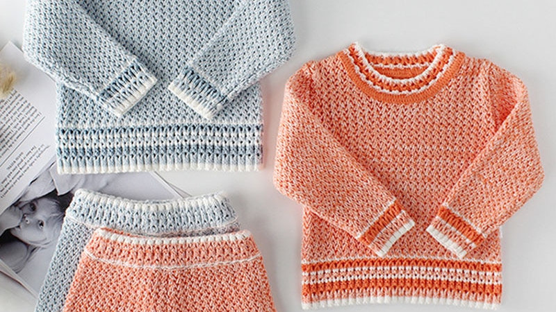 Handknitted Baby Girl Outfits