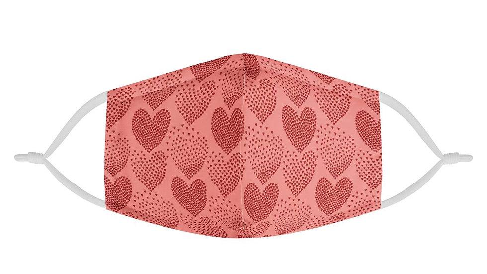 Love Heart Face Mask