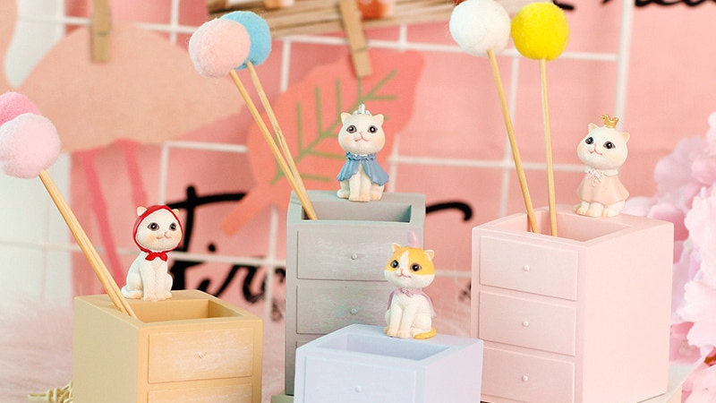 Cute Kitty Pencil Holder
