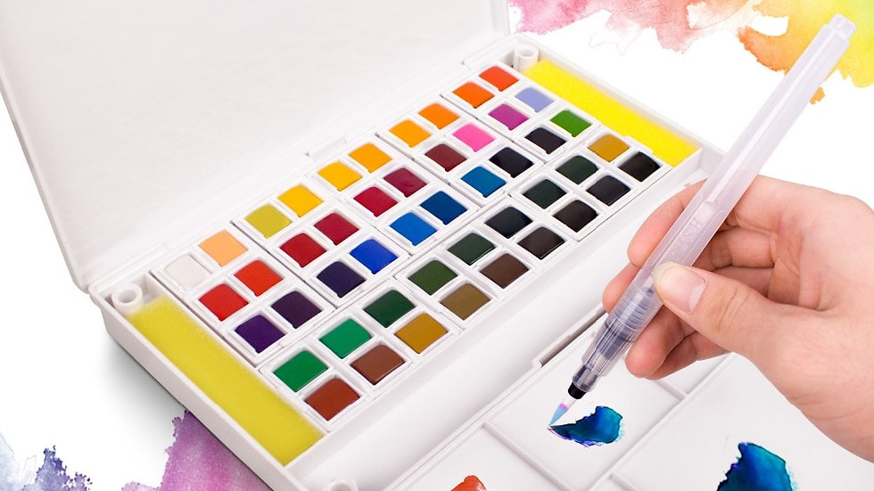 Portable Watercolor Set