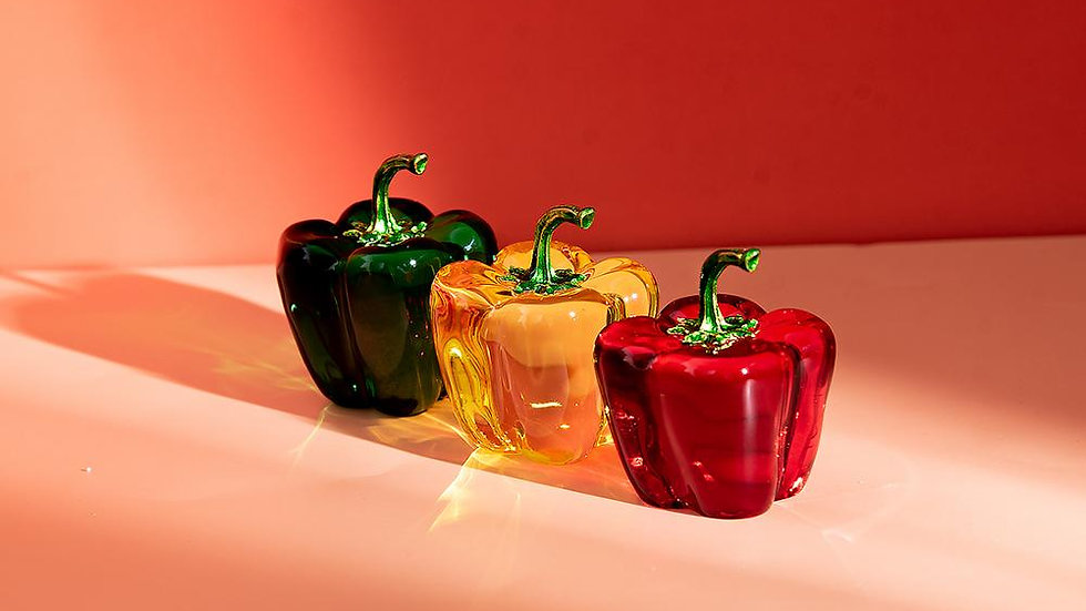 Colourful Crystal Peppers